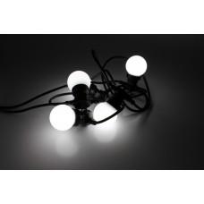 Белт-лайт LED-2BLR-G50-20-10M-240V-W/BL (белые светодиоды/черный провод) 28W, соединяемый, 10м