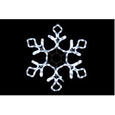 Снежинка светодиодная белая 75*75 см