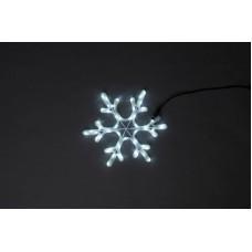 Снежинка светодиодная белая, 40*40 см