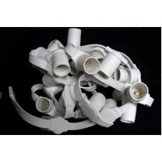 Белт-лайт 5-ти проводный 5BLС-E27-165-6-240V, влагозащищенный, белый провод, 50м