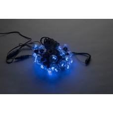 Белт-лайт LED-2BLR-50CM-10M-240V-B (синие светодиоды/черный провод), 10м