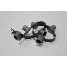 Белт-лайт 5-ти проводный 5BL-E27-165-6-240V, серый провод, 50м