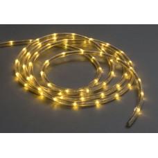 Дюралайт светодиодный двухжильный LED-DL-2W-100M-1M-12V белый теплый, 13мм, кратность резки 1м