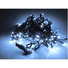 Светодиодная гирлянда LED-PL-120-10M-240V-W/BL-T белая, черный провод, 12м