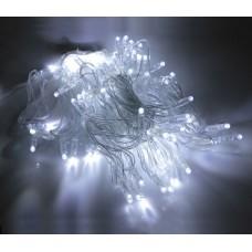 Светодиодная гирлянда LED-PLS-100-10M-24V-W/C-W/O белая, прозрачный провод, соединяемая (без силового шнура) 24V, 10 м