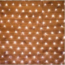 Светодиодная сетка LED-SNL-432-2*3M-240V-WW/C (белые теплые светодиоды/прозрачный провод) 2*3 м