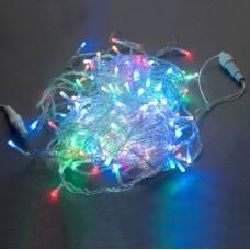 Светодиодная гирлянда LED-BW-200-20M-240V-S-M, мульти, прозрачный провод, соединяемая, 20м