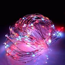 Светодиодная гирлянда Роса LED-DD-100-10M-12V-RGB, 10м, RGB