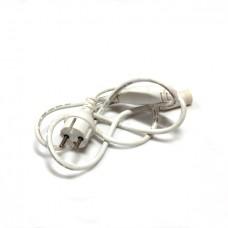 Силовой шнур для гирлянд LED-PLR, белый