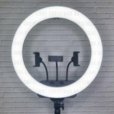 Кольцевая лампа RL-19 45 см с пультом д/у, сумкой и штативом