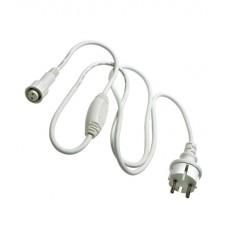Силовой шнур для бахромы LED-RPLR-160-4.8M/LED-RPLR-160-4.8M, белый