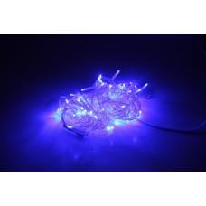 Светодиодная гирлянда LED-PLS-200-20M-240V-B/C, синяя, прозрачный провод, соединяемая, 20м