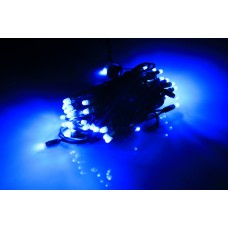 Светодиодная гирлянда LED-PLR-160-16M-240V-B/BG синий, темно-зеленый провод, 16м