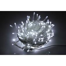 Светодиодная гирлянда LED-BW-200-10M-240V-W белая, белый провод, 10м