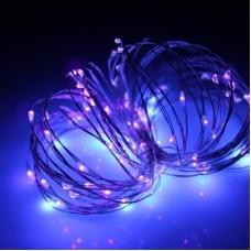 Светодиодная гирлянда Роса LED-DD-100-10M-12V-PURPLE, 10м, пурпурный
