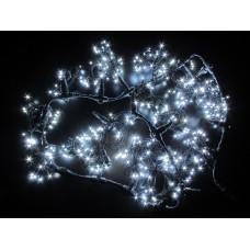 Светодиодный занавес LED-PL-1920-2*1.5M-240V-W/BL-T (белые светодиоды/черный провод) 2*1,5 м