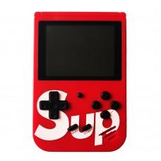 Игровая приставка консоль SUP Gamebox Plus 400 в 1, красный