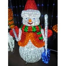 Световая фигура Снеговик 170*125 см 24V