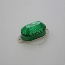 Строблампа накладная, светодиодная, зелёный цвет
