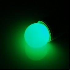 Светодиодная лампа для Белт Лайт LED G45 220V-240V Green, зеленый