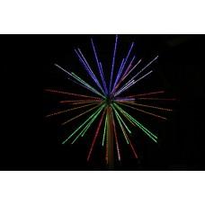 Электрофейерверк Шар LED-EM-001-М с контроллером, 12 режимов, 52 луча, 3м*3м*3м