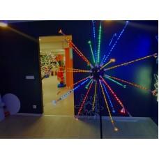 Светодиодный мини-фейерверк LED-EM-003-12V-I-02-М, 1,2*2 м