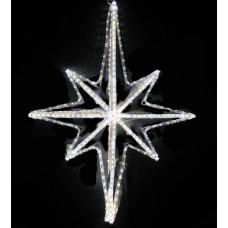 Звезда светодиодная белая, 79*54 см