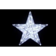Звезда светодиодная белая 60*60 см