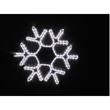 Снежинка светодиодная белая 60*58 см