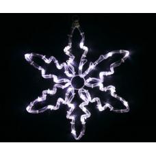 Снежинка светодиодная белая, 30*30 см