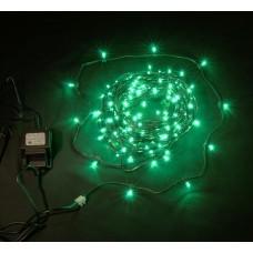 Светодиодный клип-лайт LED-LP-15СМ-100M-12V-G зеленый, темно-зеленый провод