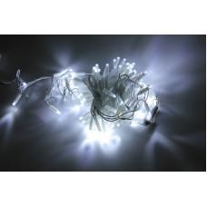 Светодиодная гирлянда LED-PLS-100-10M-240V-W/W-W/O, белая, белый провод, соединяемая (без силового шнура) 10м