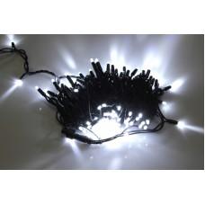 Светодиодная гирлянда LED-PLR-200-20M-240V-W/BL белый, черный провод, 20м