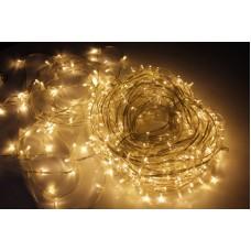 Светодиодный клип-лайт LED-LP-15-100M-12V-WW/CL-F(WW), теплый белый, теплый белый Flash, прозрачный провод (c насадкой-колпачек)