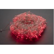 Светодиодный клип-лайт LED-LP-15-100M-12V-WW/CL-F(WW), красный, красный Flash, прозрачный провод (без колпачка)