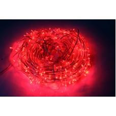 Светодиодный клип-лайт LED-LP-15-100M-12V-R/CL-F(R), красный, красный Flash, прозрачный провод (c насадкой-колпачек)