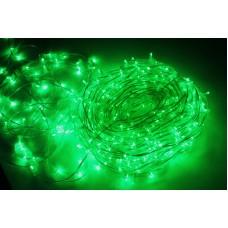 Светодиодный клип-лайт LED-LP-15-100M-12V-G/CL-F(G), зеленый, зеленый Flash, прозрачный провод (c насадкой-колпачек)