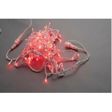 Светодиодная гирлянда LED-PLS-200-20M-240V-R/W-W/O, красная, белый провод, соединяемая (без силового шнура) 20м