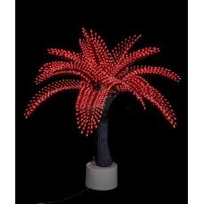Светодиодная Пальма Японская, красная 1,2 м