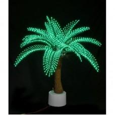 Светодиодная Пальма Японская, зелёная 1,2 м