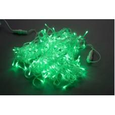 Светодиодная гирлянда LED-PLS-100-10M-24V-G/C-W/O зеленая, прозрачный провод, соединяемая (без силового шнура) 24V, 10 м
