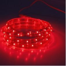Дюралайт светодиодный двухжильный LED-CDL-FCB-3528-13MM-36L-240V-R красный, 13мм, кратность резки 2м