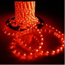 Дюралайт светодиодный двухжильный LED-XD-2W-1M(100M)-12V красный, 13мм, кратность резки 1м