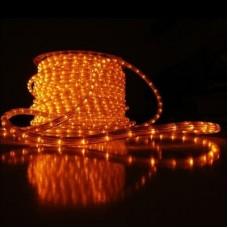 Дюралайт светодиодный трёхжильный LED-DL-3W-100M-2M-240V-O оранжевый, 13мм, с динамикой, кратность резки 2м