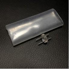 LED-DL-2W-7 невидимый коннектор для фиксинга I-прямой, D13mm с термоус. на клеевой основе