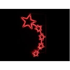 """Консоль """"5 звезд"""" красный 150*88 см"""