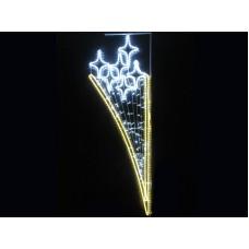 Консоль 6 Звезд белый теплый белый FLASH 200*65 см