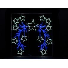Консоль Белые звезды 200*210 см