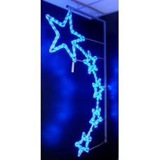 Консоль 5 Синих Звезд 150*87 см