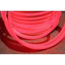 Гибкий неон LN(C)H-FX-2W-0.5-5FT-50M-240V-R красный, 15x26мм, (с красной оплеткой), кратность резки 1,28м